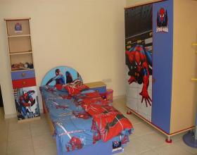 spiderman childrens 39 bedroom set x 3